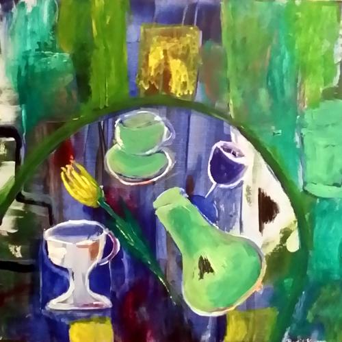 Et eksempel på kunst av Bodil Knutsen.