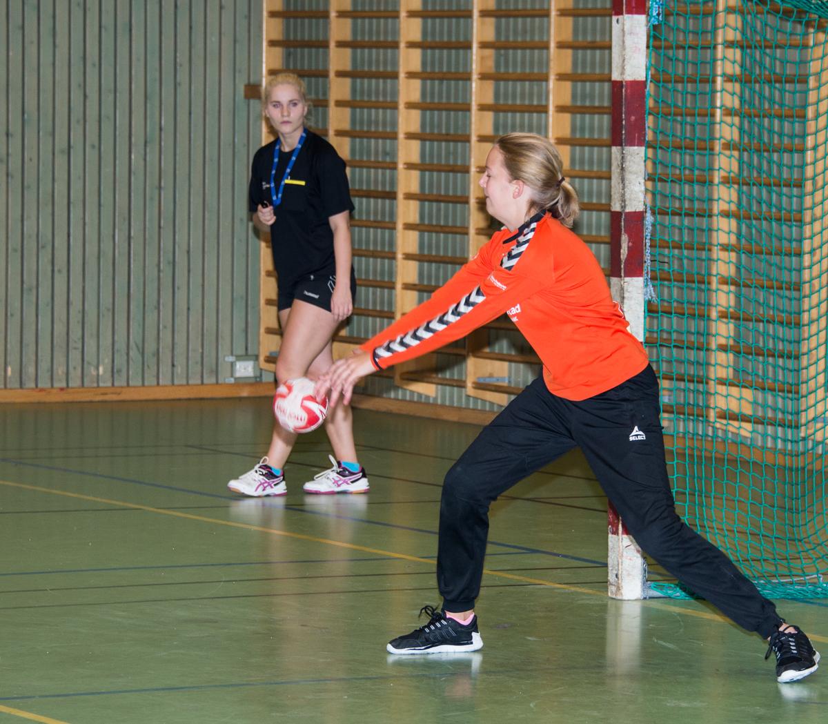 Julie Sørensen stoppet det meste mot Sørfjell.