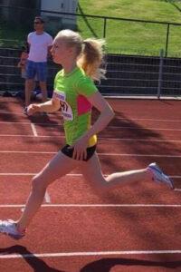 Anne Hjorth Arntsen løp raskt i Kristiansand.