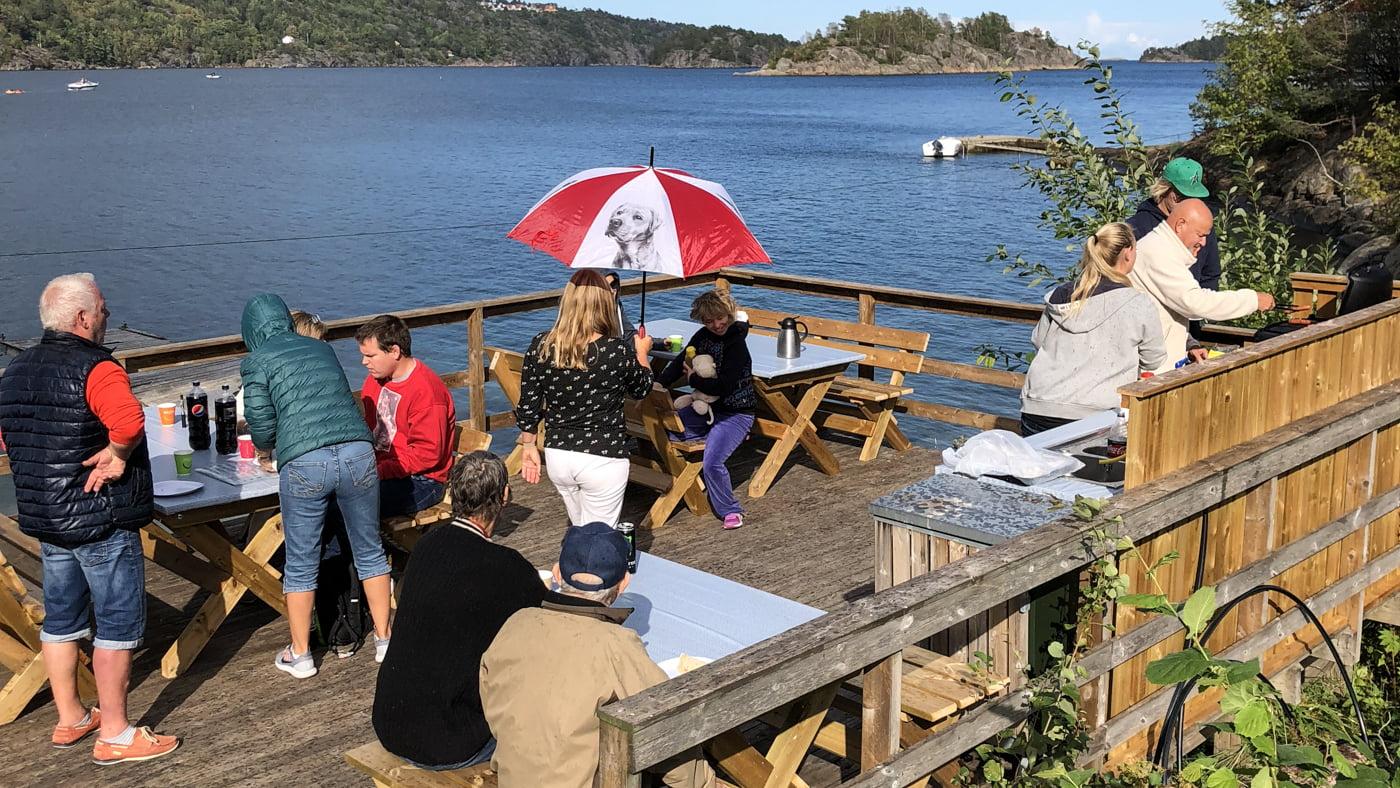 Svært Innviet ny grill for Sandnes ressurssenter - I Risør OT-21